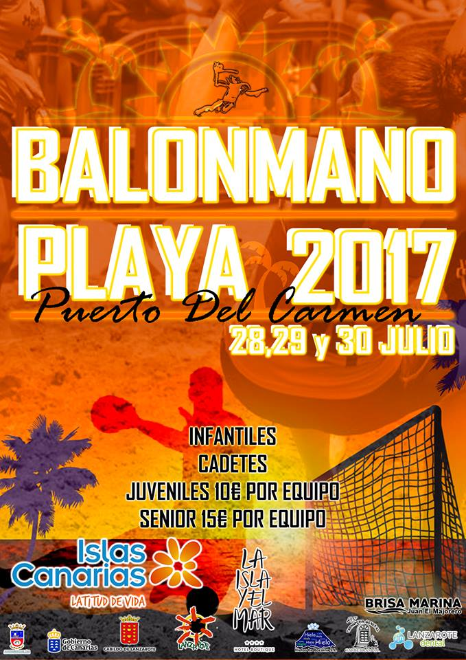 CARTEL BALONMANO PLAYA