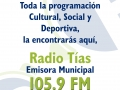 Cartel Radio Municipal 2015